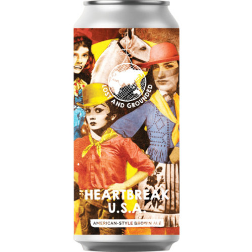 'Heartbreak USA' - Lost & Grounded Brewers - American Style Brown Ale - 5.6%