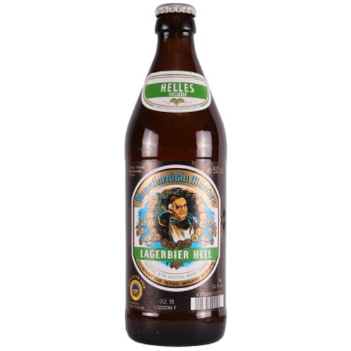 'Lagerbier Hell' - Augustiner-Bräu - Helles Lager - 5.2%