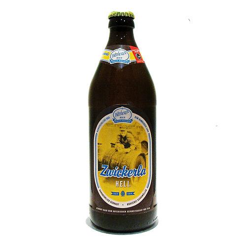 'Weiherer Zwickerla Hell' - Brauerei Kundmüller - Lager - 4.9%