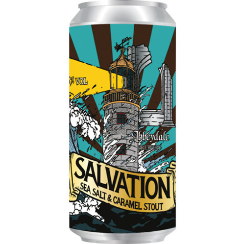 'Salvation' - Abbeydale Brewery - Sea Salt & Caramel Stout - 4.5%