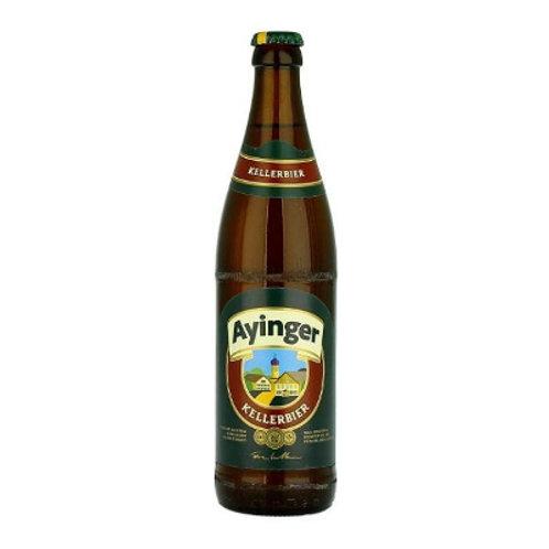 'Kellerbier' - Privatbrauerei Ayinger - Lager - 4.9%