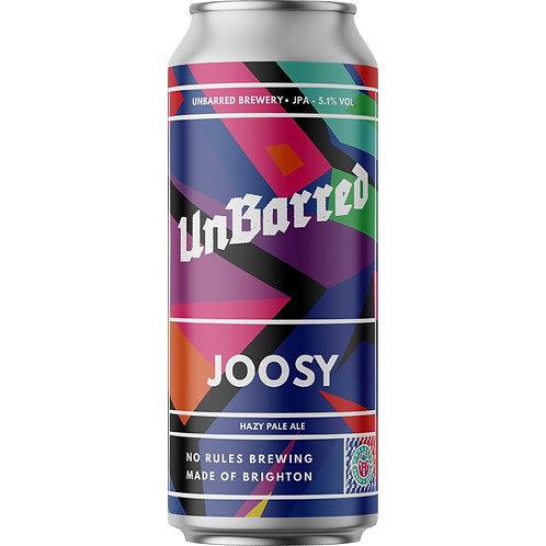 'Joosy' - UnBarred Brewery - Hazy Pale Ale - 5.1%