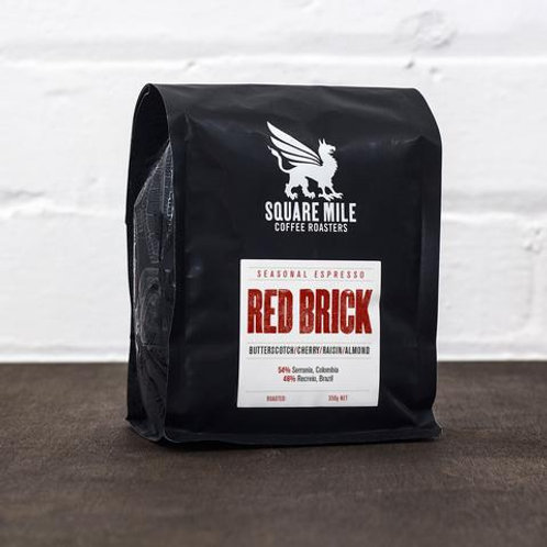Red Brick Espresso Blend - Square Mile Coffee Roasters (Whole Beans)