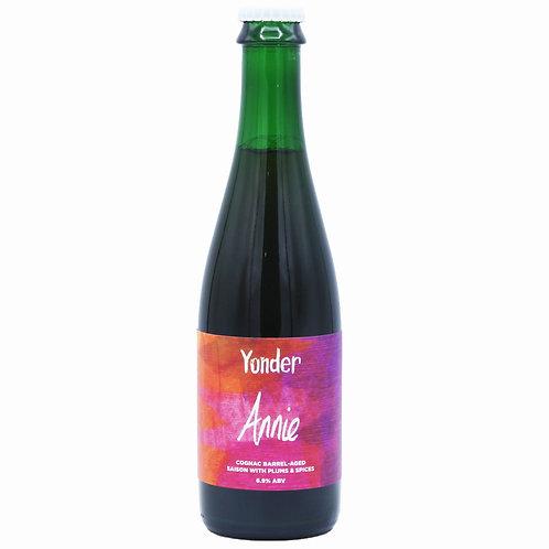 'Annie' (2020) - Yonder Brewing - BA Saison w/ Plums & Spices - 6.9%
