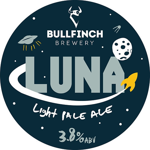 Luna (Draught) - Bullfinch - Ultra Pale Ale - 3.8%