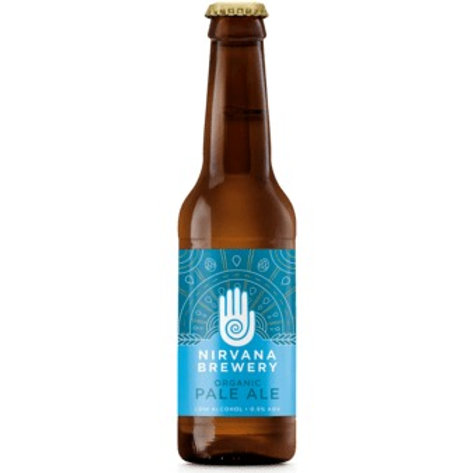 'Organic Pale Ale' (AF) - Nirvana Brewery - Alcohol Free Pale Ale - 0.5%