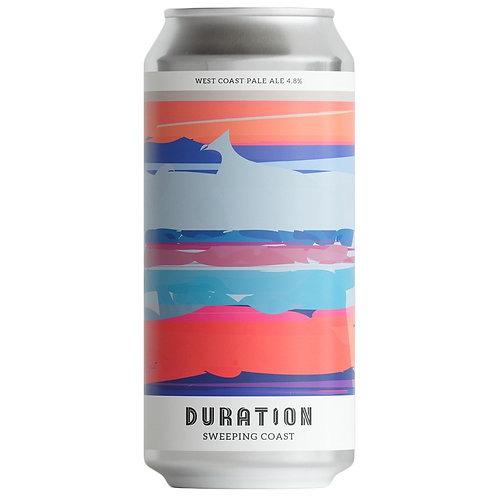 'Sweeping Coast' - Duration Brewing - West Coast Pale Ale - 4.8%