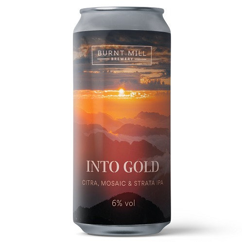 'Into Gold' - Burnt Mill Brewery - IPA - 6.2%