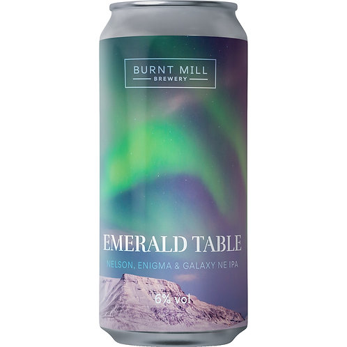'Emerald Table' - Burnt Mill Brewery - NEIPA - 6%