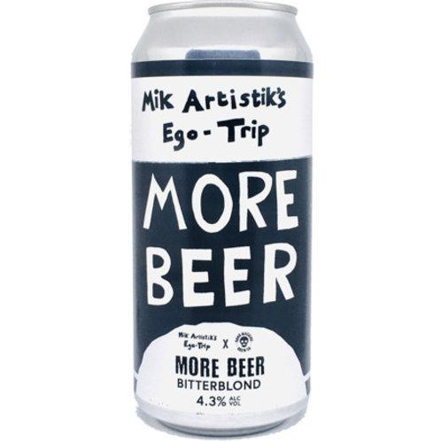 'More Beer' - Bone Machine + Mik Artistiks Ego Trip - Bitterblond - 4.3%