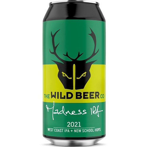 'Madness IPA 2021' - The Wild Beer Co. - IPA - 6.5%