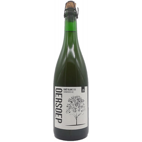 Forêt Blanc (2016) - Oersoep - Barrel Aged Farmhouse Ale - 6%