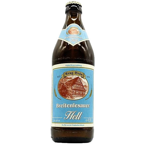 'Breitenlesauer Hell' - Krug-Bräu - Helles Lager - 4.8%