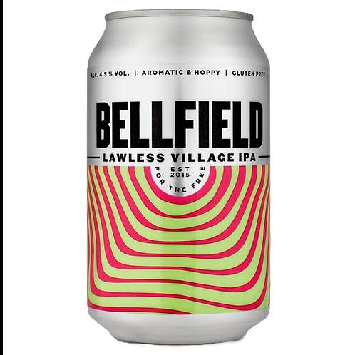 'Lawless Village IPA' (GF) - Bellfield Brewery - Gluten Free IPA - 4.5%