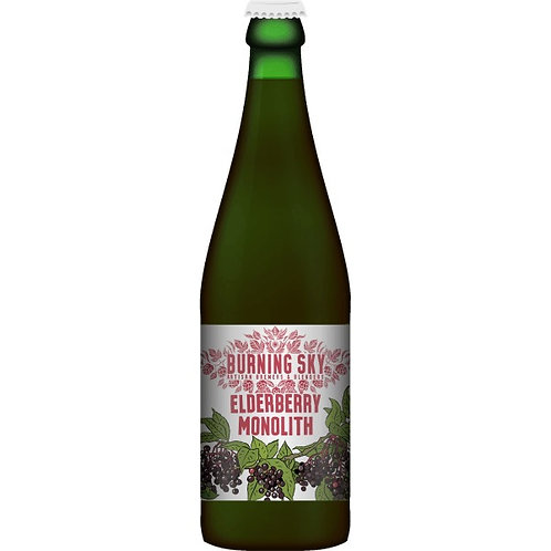 'Elderberry Monolith' - Burning Sky - BA Dark Beer w/ Elderberry - 9.7%