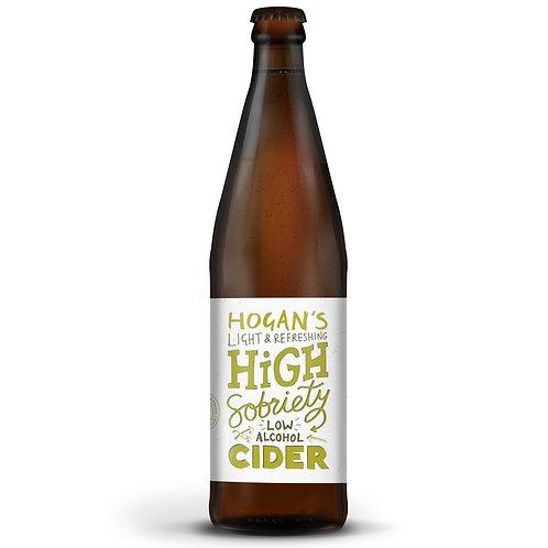 'High Sobriety' - Hogan's Cider - Low Alcohol Apple Cider - 1%
