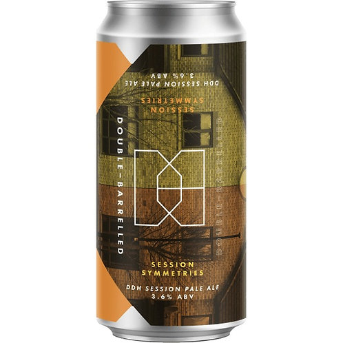 'Session Symmetries' - Double-Barrelled Brewery - DDH Session Pale - 3.6%