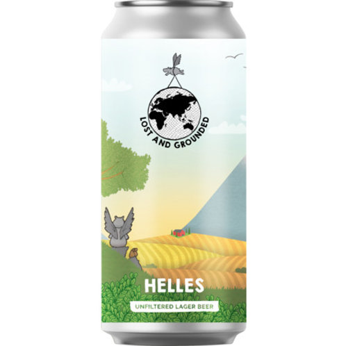 'Helles' - Lost & Grounded Brewers - Helles Lager - 4.4%
