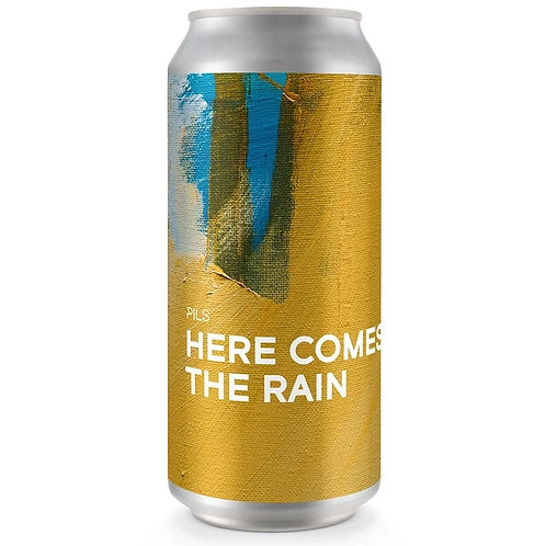 'Here Comes The Rain' - Boundary Brewing - Pilsner Lager - 5.2%
