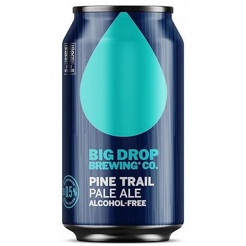 'Pine Trail' (AF & GF) - Big Drop Brewing Co. - Alcohol Free Pale Ale - 0.5%