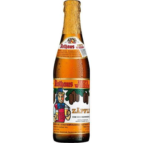 'Hefeweizen Zäpfle' - Badische Staatsbrauerei Rothaus - Wheat Beer - 5.4%