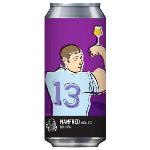 'Manfred' - Time & Tide Brewing - DDH IPA - 5%