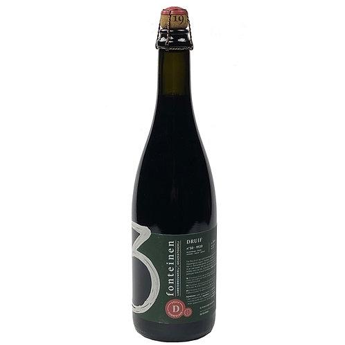 'Druif Dornfelder' (19/20) - Brouwerij 3 Fonteinen - Lambic w/ Grape - 9%