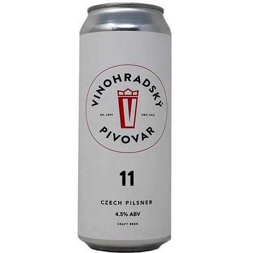 'Vinohradská 11' - Vinohradský Pivovar - Czech Pilsner Lager - 4.5%