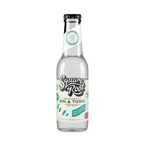 Non-Alcoholic Gin & Tonic - Square Root (200ml)