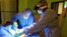Surgery example from Haiti