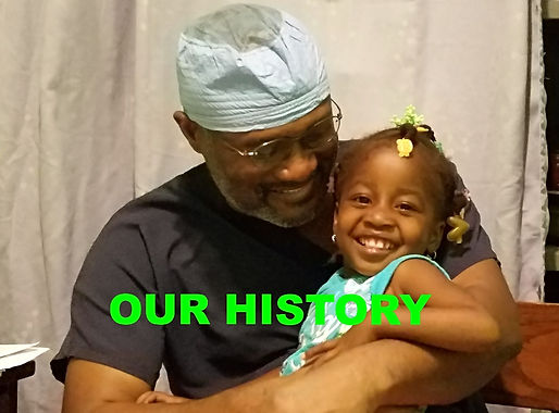 Our History: Dr E and little girl