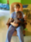Joey and Haitan Boy