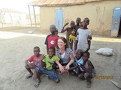 Loretta and Hatian kids
