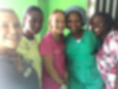 3 Haitian Nursing Staff