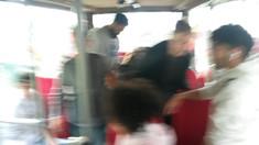 Im Theaterbus unterwegs