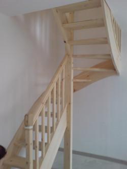 Escalier traditionnel - 1 rampant