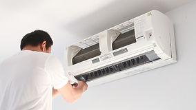 Installation d'une climatisation