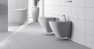 Pose de toilettes et salle de bain