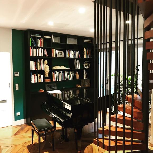 Bibliothèque & Agencement
