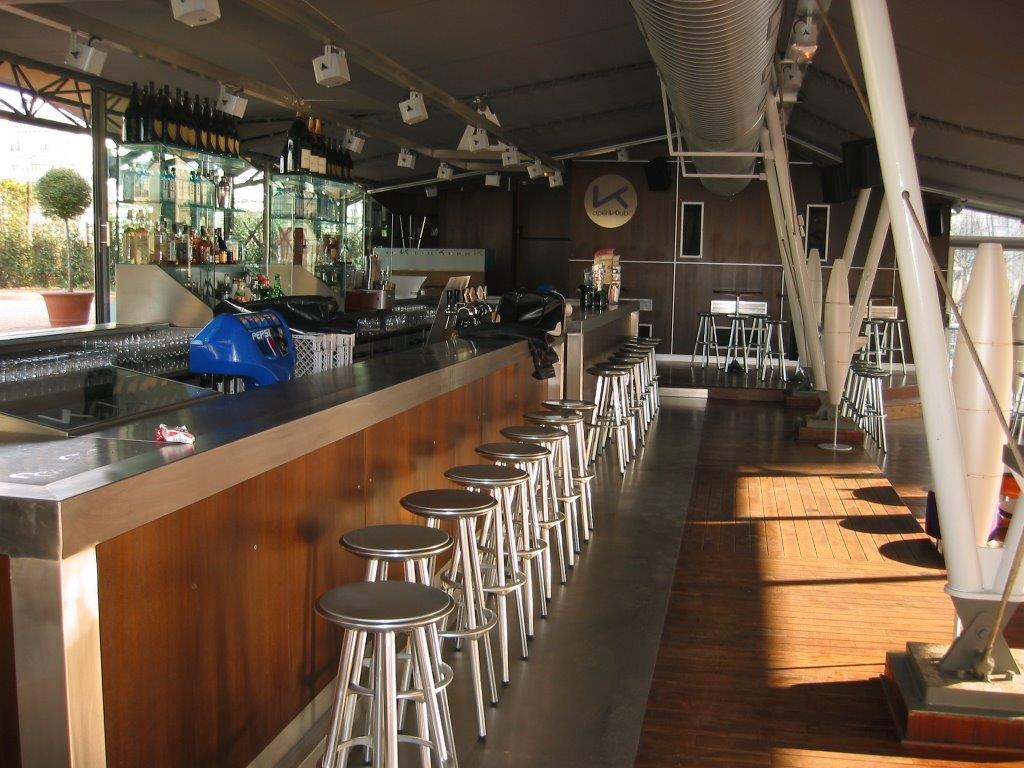 Agencement d'un Bar Lounge lyonnais