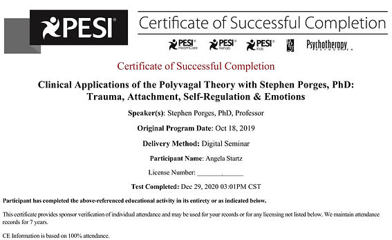 certificate-clinical application of poly