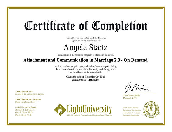 certificate-attachment and communication