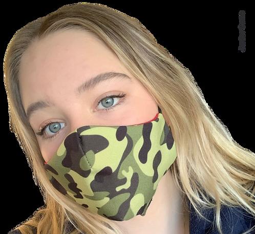 Junior Camo Australian Made Sub Mask
