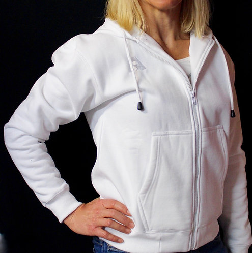 Ladies Fleecy Full Zip HOODIE by Holland Park