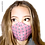 Thumbnail: Finesse Gingham Strawberry Australian Made Sub Mask