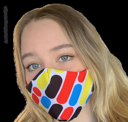 Junior Bitmap Smudge Australian Made Sub Mask