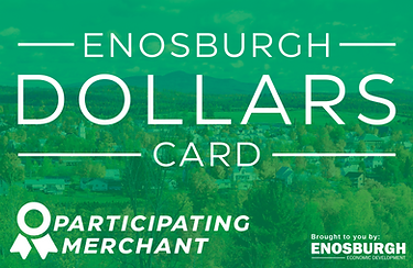 enosburgh dollars card
