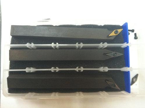 "Mini indexable lathe tool kit 1/2"" SVJB"