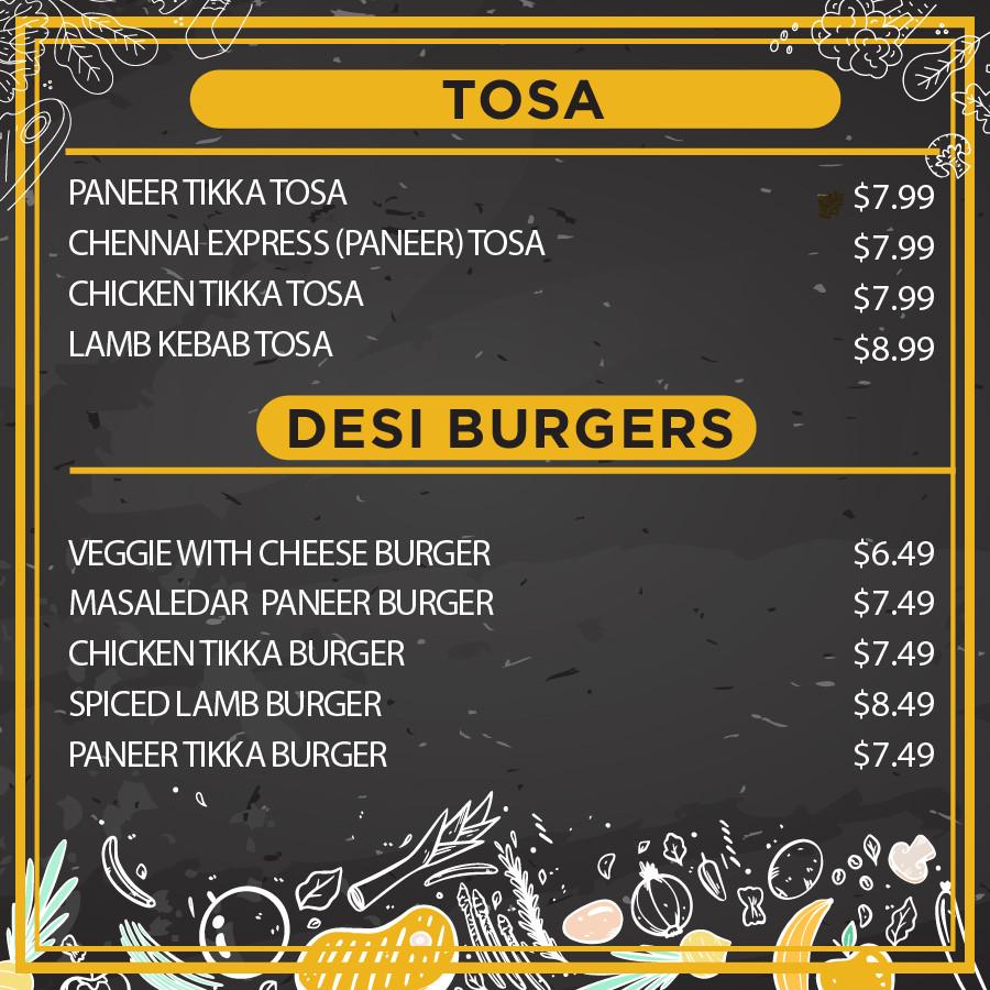 Tosa & Desi Burgers