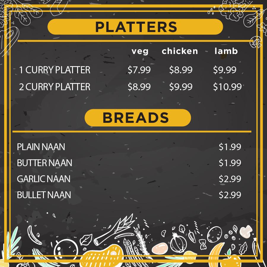 Platters & Breads